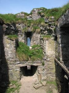 Ballycarberry Castle Interior, Caherciveen