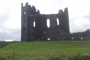 Soft day castle ruin
