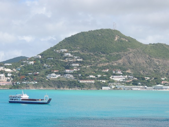 Turquoise and sapphire of St. Maarten