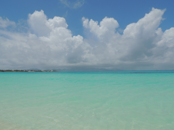 Caribbean blue of Anguilla