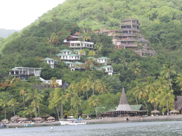 Village in St. Lucia