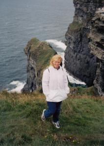 Lisa on Cliff