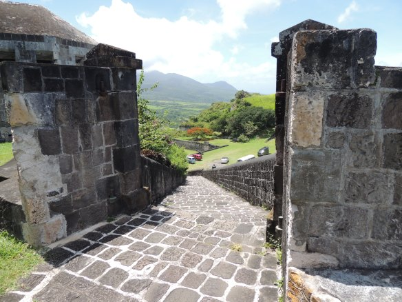 Brimstone Hill Fortress, built in the early 1700's on St. Kitts.  An amazingly-preserved fort with 7 foot thick walls.