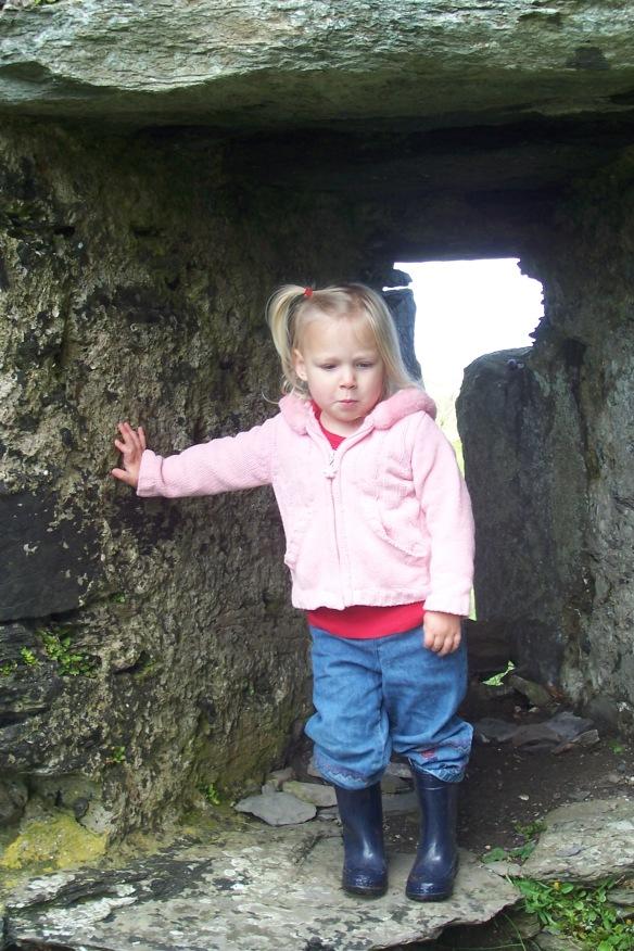 Ballycarberry castle ruins, Caherciveen, Ireland
