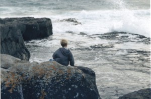 The ocean in all its beauty, Doolin