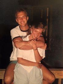 Ed and me, 1988