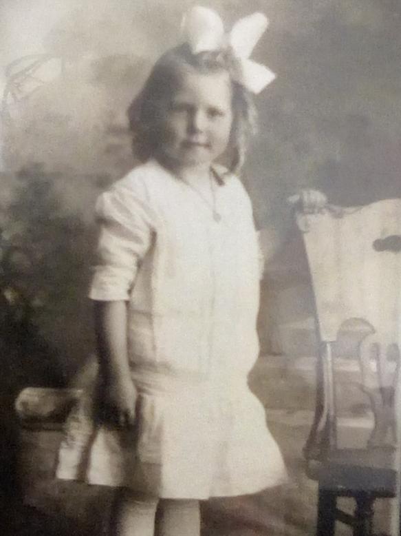 Eva Swenson 1919 or 1920